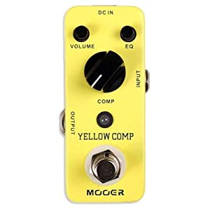 Mooer Baby Tuner Pedale Accordatore Cromatico – Yellow Comp Compressor