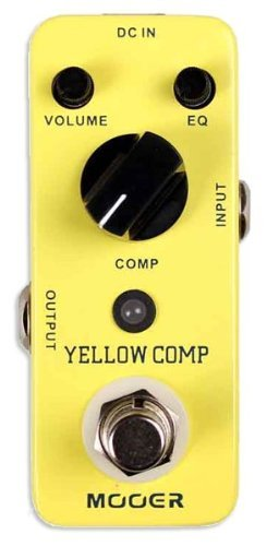 Mooer MCS2 Yellow Compression Effects - Pedal Compression