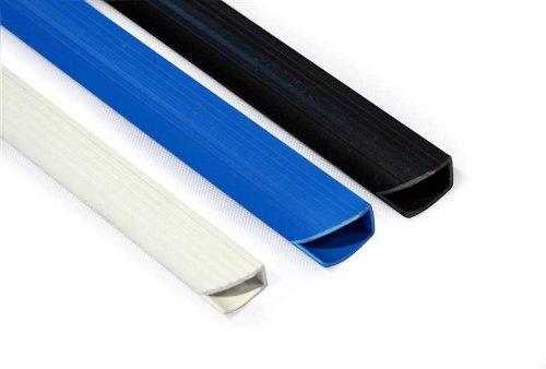 50 Klemmschienen für max. 30 Blatt, DIN A4, 4 mm, schwarz