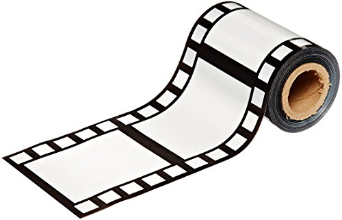 Beistle Filmstrip Poly Decorating Material Party Accessory 3-Inch by 50-Feet (1-Unit) (Reel Decoration Film)