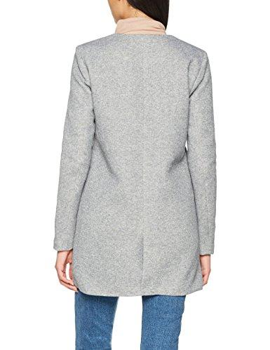Gris Noos Only Femme Coat Onlsidney Light Melange OTW Grey Manteau Light npHRCO