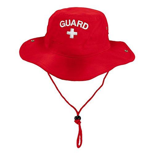 Rise Aquatics Rise Guard Safari Hat, Red, Size - (Embroidered Safari Hat)
