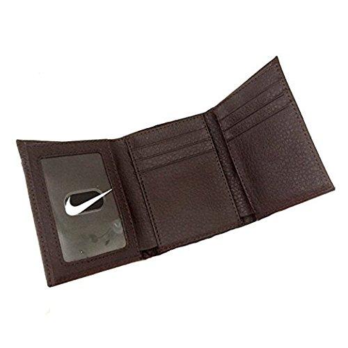 Billetera Cuero Hombres Tríptico De Marrón Nike qYw0FSF
