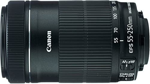 Canon 55-250mm IS STM Lens MEGAACC Microfiber Cloth