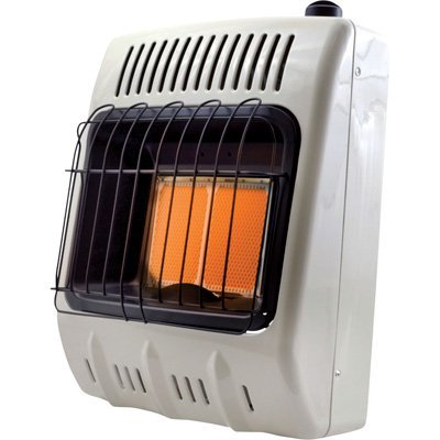 Mr. Heater Corporation F299811 10,000 BTU Vent Free Radiant Natural Gas Heater, MHVFRD10NG -