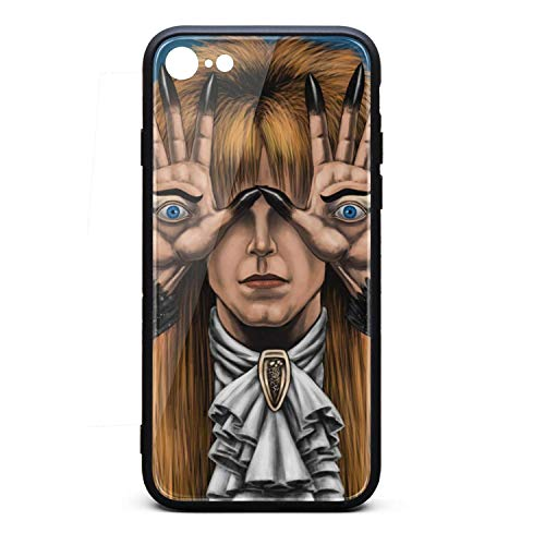 Case for Apple iPhone 7/8 Popular Album Art Shock Absorption Bumper Cover TPU Soft Rubber Case with Hard PC Back Shell SLIN