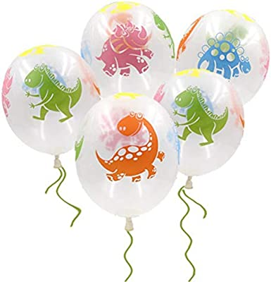 10pcs 12-inch color dinosaur latex balloon birthday party decoration Supplies
