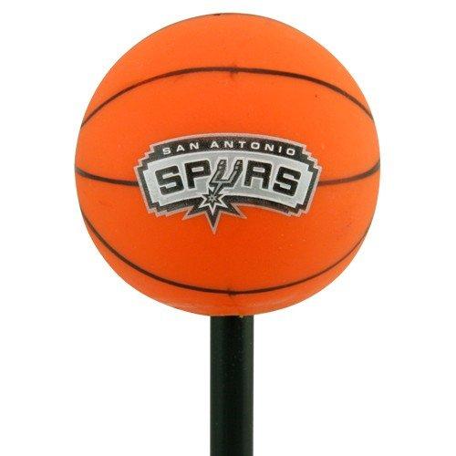 San Antonio Spurs Basketball Antenna Topper RICO Incorporated