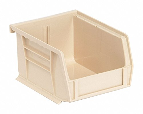 Quantum Storage QUS200IV Ultra Stack & Hang Bin, Ivory - 5 x 4.12 x 3 in. (Ivory Ultra Stack)