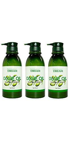Dream Body Olive Oil 750ml (Pack of 3)