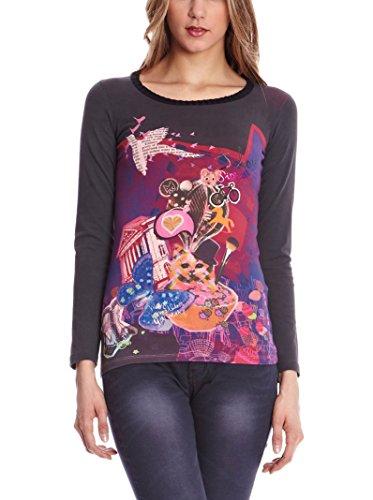 SIDECAR Camiseta Manga Larga Ines Gris M
