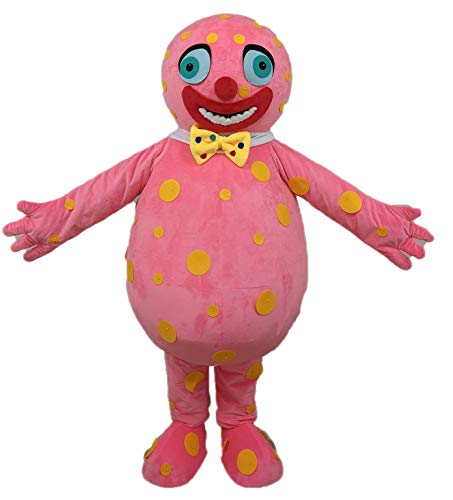 Mr Blobby Mascot Costume for Birthday Party