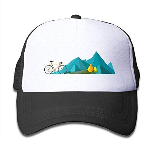 Bike Adjustable béisbol Girl Mesh Hats Mesh Breathable Gorras Back Yuerb Children Fitted Mountain Cap qSYx4tnw