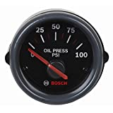"Bosch SP0F000000 Sport ST 2"" Electrical Oil Pressure Gauge"
