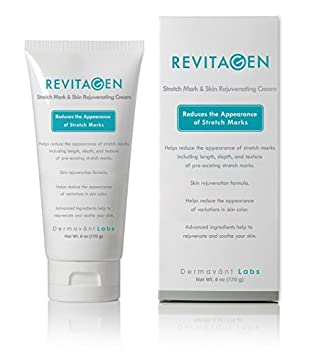 Amazon Com Best Stretch Mark Removal Cream Revitagen Fade Reduce Stretch Marks Caused By Weight Gain Pregnancy Muscle Growth Stop New Stretch Marks From Forming Natural