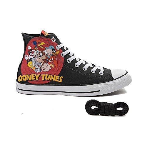 Scarpe Da Skateboard Alte Imbottite Trapuntate Uomo Looney Tunes 9528