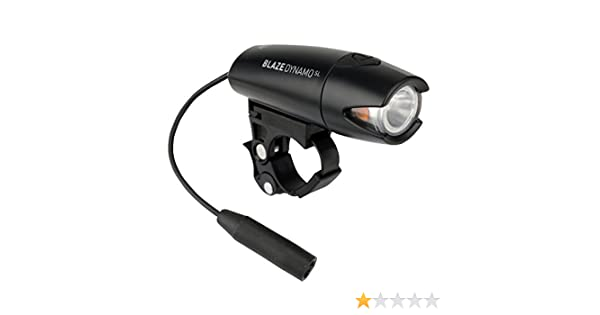 Planet Bike Blaze Dynamo Bike Headlight Black
