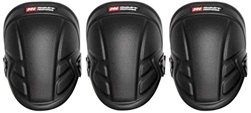 McGuire-Nicholas 1Mn-350 Tuff Shell Kneepads Heavy Duty Foam Padding For Construction, Gardening & Flooring (Тhree Pаck) by McGuire-Nicholas (Image #3)