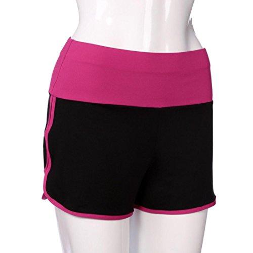 Amlaiworld Shorts Leggings Extensibles Sport Pantalons Femme Chaud Courts ❤️shorts Rognés Rose De Course Yoga rP8qxrEIw