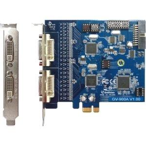 Geovision, Inc - Geovision Gv-900A Video Capture Card - Functions: Video Capturing, Video Recording, De-Interlace - Pci Express X1 - Ntsc, Pal
