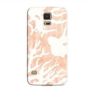Cover It Up - Pink Nature Print Galaxy S5 Hard case