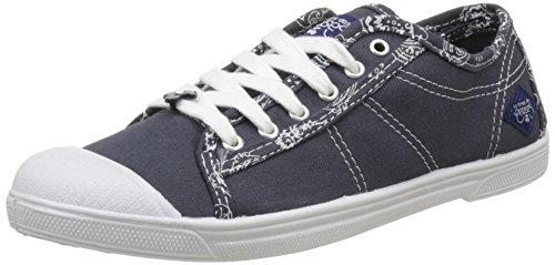 Le Temps des CerisesBasic 02 - botas de caño bajo Mujer azul (Bandana Navy)