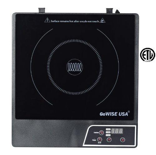 GoWISE USA GW22604 Kitchen Electric Induction Glass Smooth top Cooktop (Smooth Cooktop Cookware compare prices)