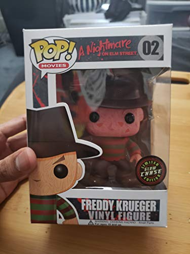 Funko A Nightmare on Elm Street POP! Movies Freddy Krueger Vinyl Figure #02 [Glow in the Dark Chase] (Glow In The Dark Nightmare Freddy Pop)