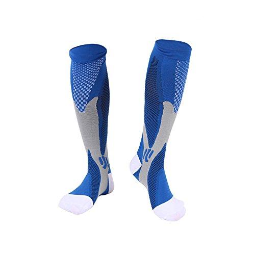 3 Pairs Compression Socks for Men and Women Graduated Athletic Socks for Sport Medical, Athletic, Edema, Diabetic, Varicose Veins, Travel, Pregnancy, Shin Splints, Nursing by Yodofa (Image #3)