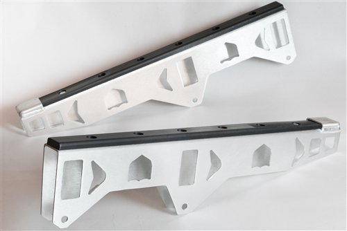 - POLARIS RZR XP 1000 XP1K Trailing Arm Armor GUARDS Aluminum protection with UHMW Slider NEW #P141524