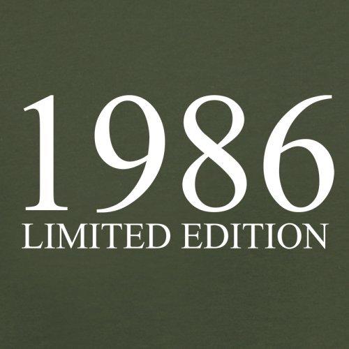 1986 Limierte Auflage / Limited Edition - 31. Geburtstag - Herren T-Shirt - Olivgrün - M