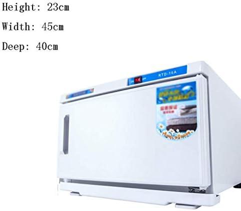 ZHAO Cabinet de Haute température Désinfection désinfection Cabinet Boîte de Rangement Serviette de désinfection Cabinet avec Poignée de Porte Si (Size : Single Layer)