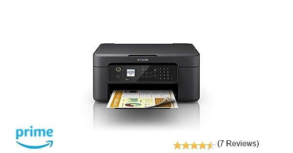 Epson WorkForce WF-2810DWF - Impresora multifunción de inyección de tinta 4 en 1 (impresora, escáner, copia, fax, WiFi, dúplex, cartuchos ...