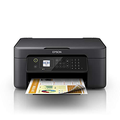 Epson WorkForce WF-2810DWF - Impresora multifunción de inyección de tinta 4 en 1 (impresora, escáner, copia, fax, WiFi, dúplex, cartuchos individuales, DIN A4), color negro a buen precio
