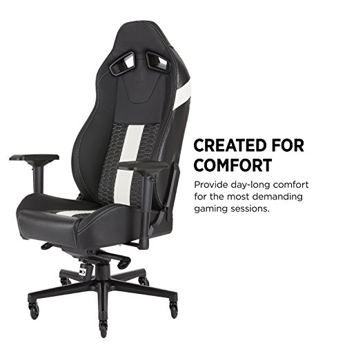 Awesome Corsair Cf 9010007 Ww T2 Road Warrior Gaming Chair Comfort Camellatalisay Diy Chair Ideas Camellatalisaycom