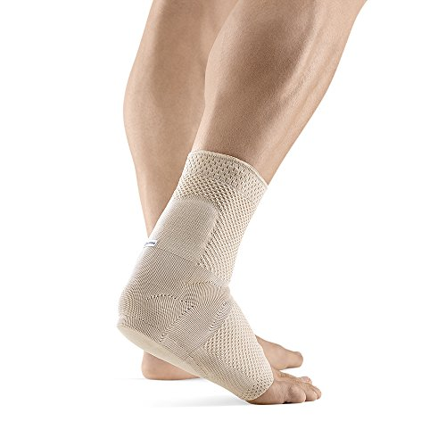 Bauerfeind – AchilloTrain – Achilles Tendon Support – Breathable Knit Ankle Brace for Targeted Relief of Achilles Tendon Without Limiting Mobility – Right Foot – Size 2 – Color Nature