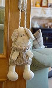 Patrón para tejer perro baggles bolsa de regalo