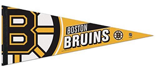 WinCraft NHL Boston Bruins Premium Pennant, 12 x 30 inches, Felt