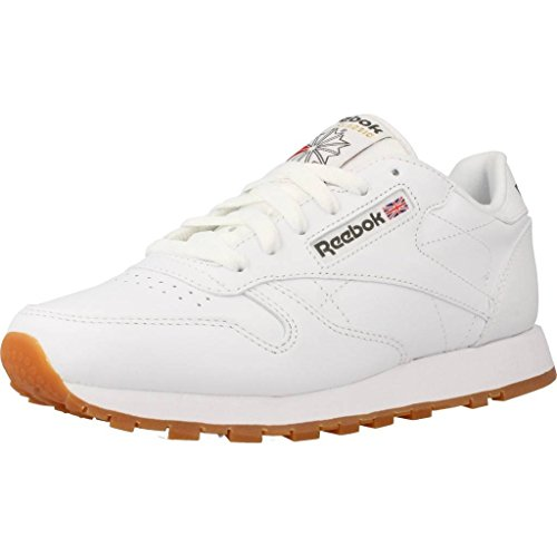 Baskets Blanc Reebok Leather Garçon Classic Basses wxgFv