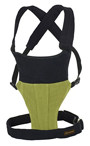 Organic Cotton and Hemp Embark Baby Carrier by The Peanut Shell - Moss Green