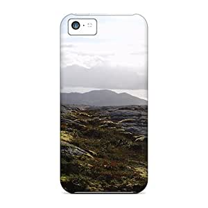 Snap-on Rocks Mountains Lakes Cases Covers Skin Compatible With Iphone 5c