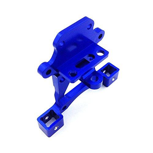 Atomik RC Traxxas E-Revo 1:16 Aluminum Alloy Body Post Mount Base Hop Up Upgrade, Blue Replaces Traxxas Part 7015 ()