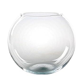 Pecera Globo Cristal Diametro 25 cm: Amazon.es: Jardín