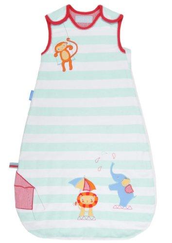 Grobag Baby Sleeping Bag (Grobag Sleepy Circus, 100% cotton Fabric Baby Sleeping bag For Silky Smooth Comfort 3.5 Tog (0-6 months))