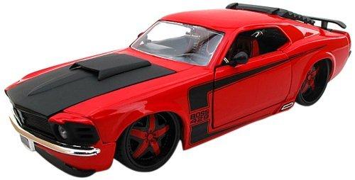 1/24 1970 フォードマスタング BOSS429(ブラック) 「BIGTIME KUSTOMS」 JD-90348