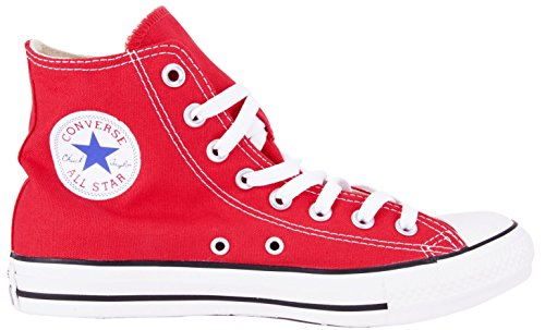 Converse Unisex Chuck Taylor All Star Hi Basketball Shoe (7.5 B(M) Women / 5.5 D(M) Men, Red)
