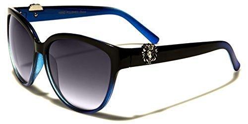 d'oeil SPORT chat CONDUITE poche soleil Kleo Mode Lunettes Femmes Bleu Noir de inclus GRATUIT beachutsunglasses MODE 5RxqFpw