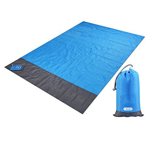 Natte De Plage En Plein Air, Voyage Camping Portable Imperméable Xp20 Tapis De Plage