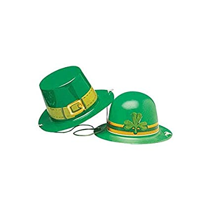 Image Unavailable. Image not available for. Color  St. Patrick s Day  Assorted Plastic Mini Hats ... d43363ef886f