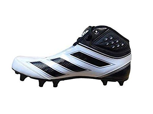 Tacchetti Da Calcio Adidas Mens Malice 2 Fly Larghi, Bianco / Nero / Argento Metallizzato